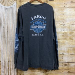 Vintage Harley Davidson Fargo, ND Tee